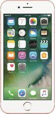 Teléfonos móviles libres deslizantes Apple de color oro rosa