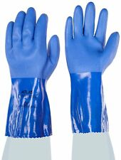 Showa Atlas 660XL-10 Fully Coated Triple-Dipped PVC Gloves XL 12 Pack