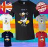Donald Duck Angry Cartoon Men Women Unisex T-shirt Vest Top 3861