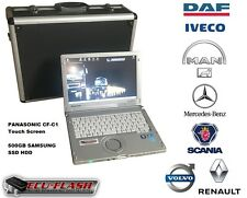 DAF IVECO MAN MERCEDES SCANIA VOLVO/RENAULT Super AIO dealer diagnostic system
