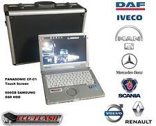 DAF IVECO MAN Mercedes SCANIA VOLVO/RENAULT super AIO concessionnaire système de diagnostic