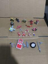 Vintage Power Rangers Micro Machines Lot/Figures- Zords Villians Rangers extras