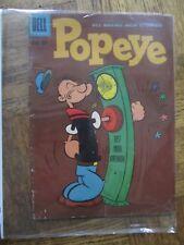 Popeye comic book, March-April 1960, DELL comics, Popeye Vol.1 No. 52