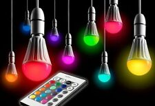 Lampadine multicolore per l'illuminazione da interno LED