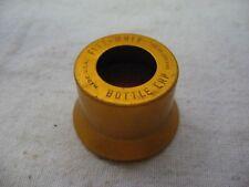 "Vintage ""FIZZ-WIZZ"" Bottle Cap ~ Metallic Orange ~ USA Patent 2903140"