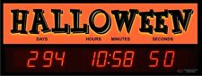 Digital LED Countdown Event Timer - Countdown to Halloween - ETCD100-18