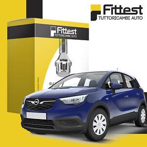 Kit Bulloni Antifurto Opel Crossland X 2017> cerchi lega/ferro Sicurezza