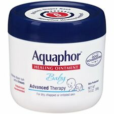 Aquaphor Baby Advanced Therapy Diaper Rash Ointment, 14 oz (9 Pack)