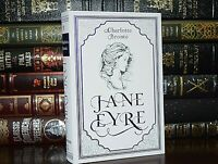 New JANE EYRE Charlotte Bronte Suede Leather Feel Ribbon Deluxe