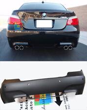PARAURTI POSTERIORE M5 IN ABS PER BMW SERIE 5 E60 03-09 BERLINA DOPPIO SCARICO
