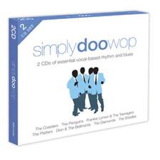 Various Artists : Simply Doo-wop CD (2012) ***NEW***
