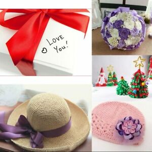 1M Fashion Embossed Love Heart Ribbon Wedding Decorations Packing Lace Ribbons