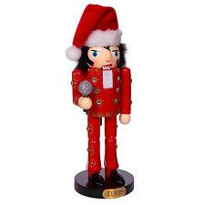 Kurt Adler Classic Red Elvis Suit Burning Love Nutcracker Christmas Retro Decor