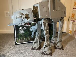 2012 Star Wars Vintage Collection: ROTJAt-At Toys R Us Exclusive W. Box + Figs