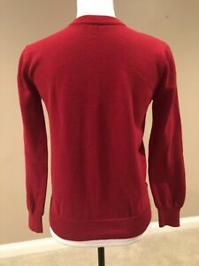 Cherokee Red Crewneck Sweater 100% Cotton Long Sleeve Boys • Size L