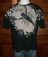 RARE STING TNA T-SHIRT Sz XL WCW VINTAGE WRESTLING WWE NWO All Over Print