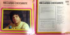DISCO 33 GIRI -    RICCARDO COCCIANTE -  CANZONI RITROVATE      A