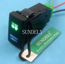 DRIVING LIGHTS 12Volt ON-OFF Push Button Switch Laser Etch Toyota FJ Cruiser US