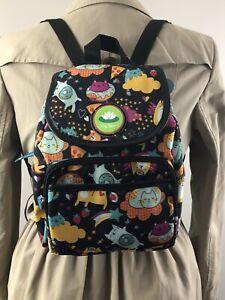 """NWT Lily Bloom Meowgical Marley Backpack 11""""x 8""""x 5"""" ECO Karma Bloom Bag"""