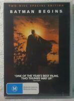 Batman Begins DVD Special Edition (2 DISC) Christian Bale, Christopher Nolan
