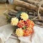 36 Heads Artificial Silk Flowers Bunch Wedding Grave Outdoor Bouquet Home Decor