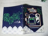 VIDEO PINBALL ATARI    arcade game manual