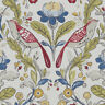Clarke and Clarke Orchard Birds Rouge Designer Curtain Upholstery Craft Fabric