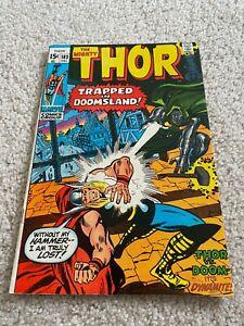 The Mighty Thor  183  VF  8.0  High Grade  Loki  Odin  Balder  Doctor Doom