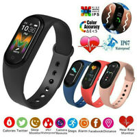 M5 Bluetooth Smartwatch Fitness Armband Tracker Sportuhr Wasserdicht Uhr NEU DE