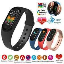 Smart Band M5 Watch Bracelet Wristband Fitness Tracker Blood Pressure HeartRate