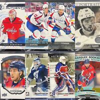 Capitals Rookie 8 Card Lot🔥Upper Deck Young Guns OPC SP Samsonov Sanford Holtby