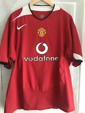 Jersey Maillot Maglia Home True Vintage 2002 2003 Manchester United England