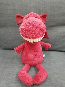 Kids Soft Toy - Jellycat Toothy Dragon - Baby Kids Birthday Present!