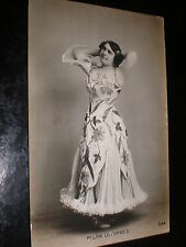 Old postcard actor dancer or singer Pilar Olivares c1920s Spain