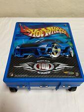 HOT WHEELS Car Case 20375 Holds 100 Cars Mattel 2002 USA