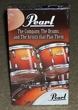 Pearl The Company The Drums And The Artists That Play Them (VHS) NEW