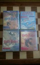 Harry Potter The Chamber Of Secrets Goblet of Fire Prisoner of Azkaban Cassettes