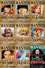 One Piece WANTED Posters PACK (A3: 28 x 43) - MUGIWARA PIRATES - Last Bounties!
