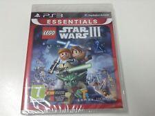 LEGO STAR WARS III THE CLONE WARS  .  Pal España ..Envio Certificado .. Paypal