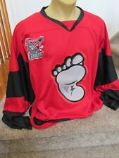 Amarillo Gorillas Hockey Embroidered Authentic Pro Style Jersey Size 56