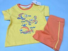 Novelty/Cartoon 100% Cotton Outfits & Sets (0-24 Months) for Boys