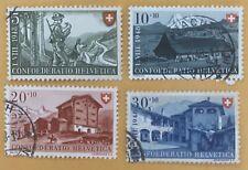 Switzerland 1948 Pro Patria Stamps Used