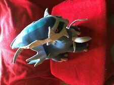 "Pokemon Dialga Plush Jakks Pacific stuffed 21"" x 16"" 2007 Nintendo Rare"