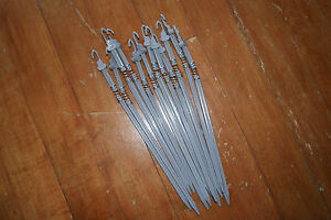 12 x Spring Sprung Motion Stake Wobbler Peg Stick for Crow Dove or Pigeon Decoy