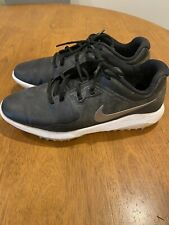Nike Fitsole Men's Black Golf Shoe Shoes 10 GUC Used