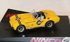 "Ninco analoges Slotcar 1:32 AC Cobra ""Yellow"" (Art. 50561) - Sonderpreis"