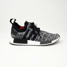 Adidas NMD R1 Primeknit Black Glitch Original Shoe Sneaker CQ2444 Men's Size 13