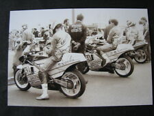 Photo Grundig Honda RS250 #51 vd Goorbergh #52 Doorakkers Dutch TT Assen 1987
