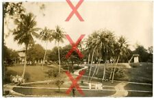 KREUZER EMDEN - orig. Foto, Park in Sabang, Sumatra, Indonesien, Reise 1926-28