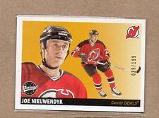 joe nieuwendyk new jersey devils 2002/03 ud vintage green back card 153 29/199